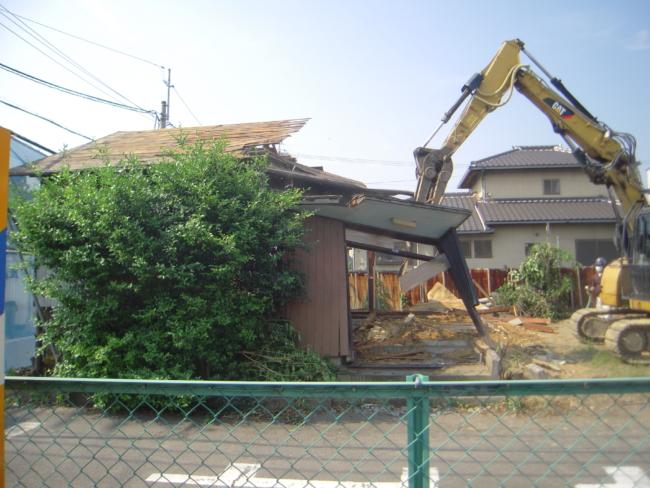 D様邸解体工事