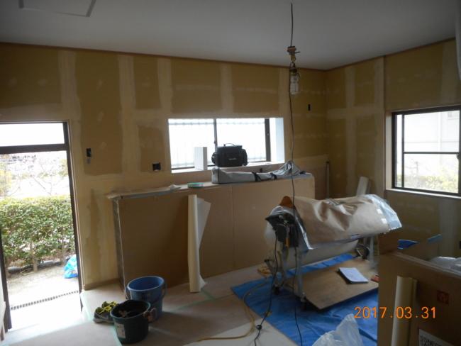 M様邸キッチン・リビング改修工事